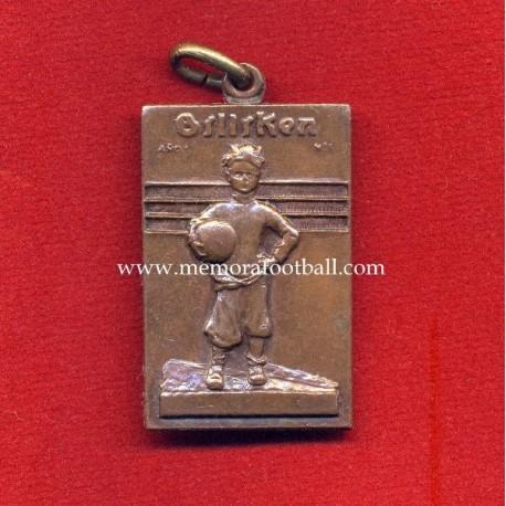 """Campeonatos Escolares Billiken"" Argentina's football medal circa 1940"