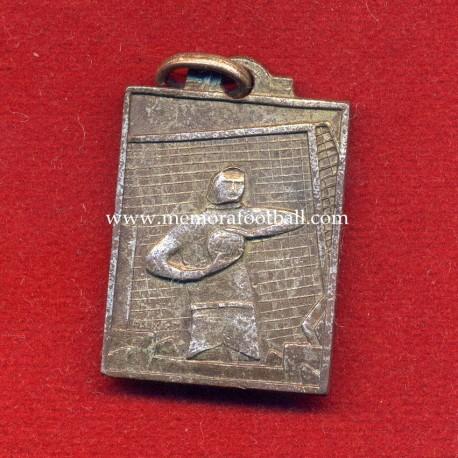 Art Deco Uruguayan football medal, 1920s