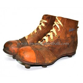 """PENTAGON"" football kids boots 1920-30s United Kingdom"