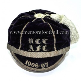 1906 - 07 University College of London Association Football Club cap