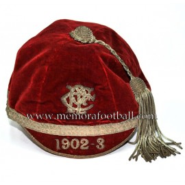 1902-3 P.R.F.C Velvet Rugby / Football cap