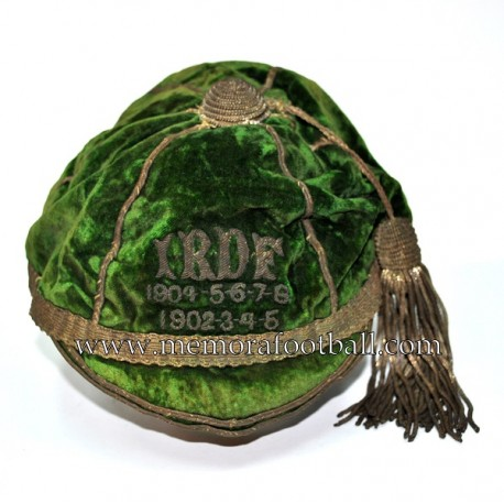I.R.D.F. 1902-08 Irish football cap