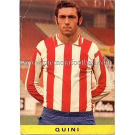 """""""QUINI"""" Sporting de Gijón 1972 Postcard"""