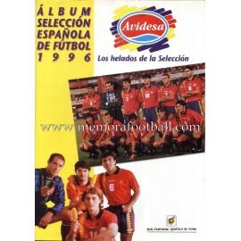 Álbum Selección Española de Fútbol 1996