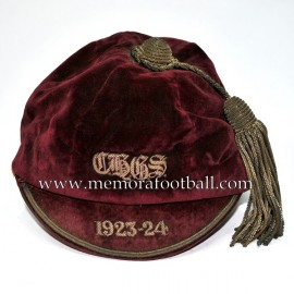 1923-24 England Football Cap