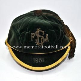 1931 L.S.F.A.? football cap