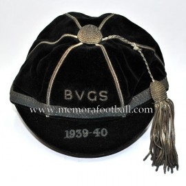 1939-40 Bishop Vesey Grammer School cap