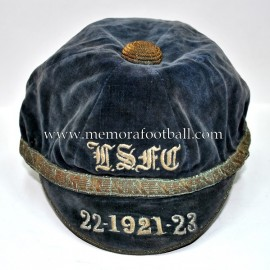1921-22-23 T.S.F.C.? football cap
