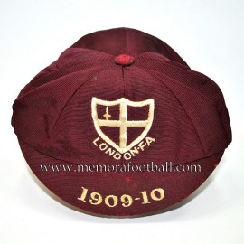 1909-10 London FA Association cap