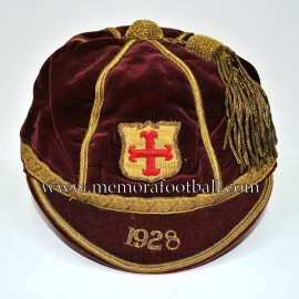 1928 English football cap