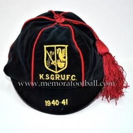 1940-41 K.S.G.R.F.C. Football cap