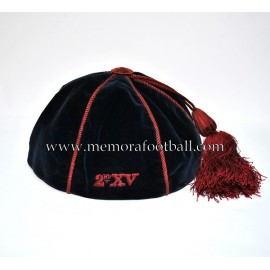 B.M.S football / rugby bonnet c.1900