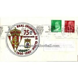 1905-1980 Sporting de Gijón 75th Anniversary letter