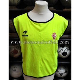 Real Sporting de Gijón training bib 2000s