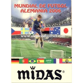Spanish publicity football calendar FIFA World Cup 2006 Germany