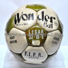 """WONDER BALL"" Football Ball 1970s"
