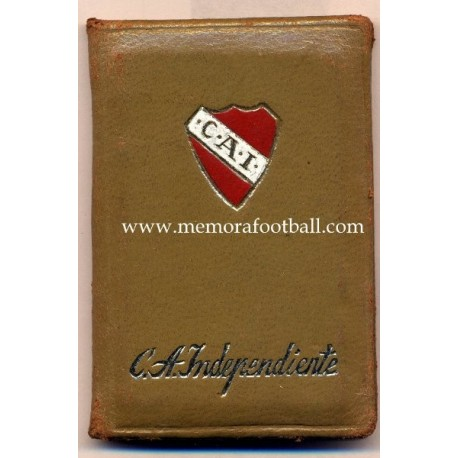 1970 Club Atlético Indepentiente (Argentina) membership card
