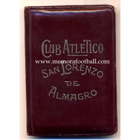 S Club Atltico San Lorenzo De Almagro Argentina Membership
