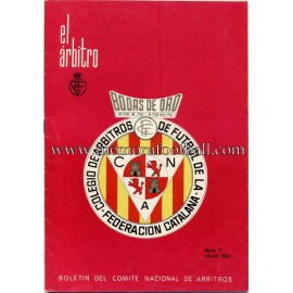 EL ÁRBITRO magazine 1965 nº7