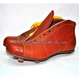 """Botas de Fútbol """"CONTINENTAL"""" 1950s Inglaterra"""