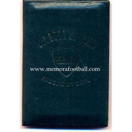 1950s Club Atlético Boca Juniors (Argentina) membership card