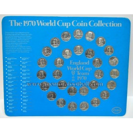 Esso 1970 World Cup Coin Complete Collection