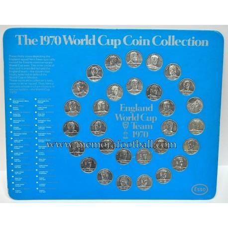 Esso 1970 World Cup Coin Coleccion completa