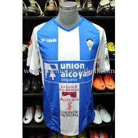 """""""BARRENA"""" CD Alcoyano 2007-08 match worn shirt"""