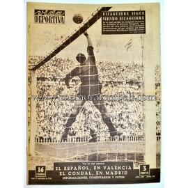 """""""VIDA DEPORTIVA"""" Semanario Gráfico 10 Septiembre 1956"""
