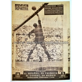 """VIDA DEPORTIVA"" Spanish Magazine September 10, 1956"