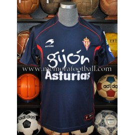 """MUÑIZ"" LFP Sporting de Gijón 2009-2010 match worn shirt"