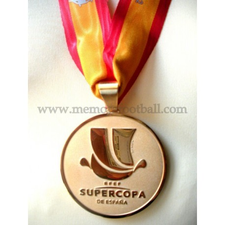 Real Madrid 2012 Spanish SuperCup Gold Medal vs FC Barcelona