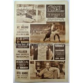 """DICEN"" Diario Gráfico 9 Noviembre 1967"