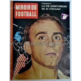 """""""MIROIR DU FOOTBALL"""" Marzo 1961 Alfredo Di Stefano"""