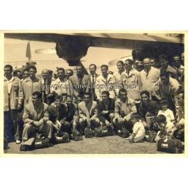 Real Madrid CF 29-06-1952 original photography
