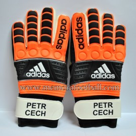 """PETR CECH"" 2008-09 Chelsea FC signed match unworn gloves"