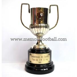 FC BARCELONA Spanish FA Cup Trophy 1996-97
