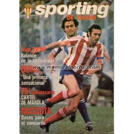 """Revista Real Sporting de Gijón"" Nº1 1980"