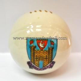 Balón de porcelana con escudo grabado de SWANSEA