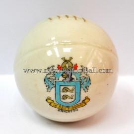 Balón de porcelana con escudo grabado de BRIGHTON