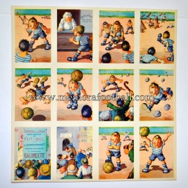 """Baloncete"" Football cards 1940s"