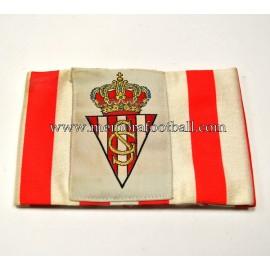 Brazalete del Real Sporting de Gijón 1980s