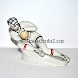 """USSR Porcelain Figurine """"Goalkeeper """" 1930s"""