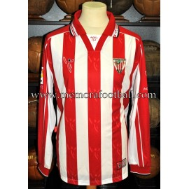 """CÉSAR"" Athletic Club 2002-03 LFP match worn shirt"