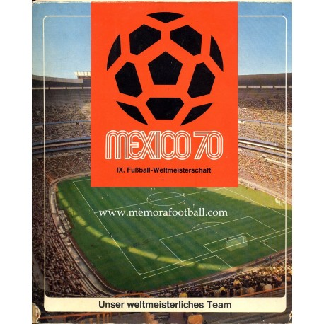 1970 FIFA World Cup Mexico Collecting Coins. German National Team