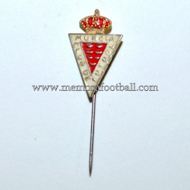 Old Real Murcia enamel badge