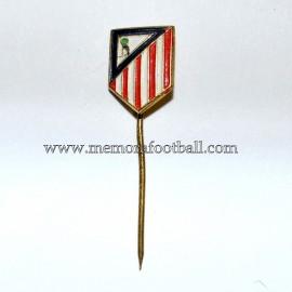 Insignia de aguja antigua del Atlético de Madrid