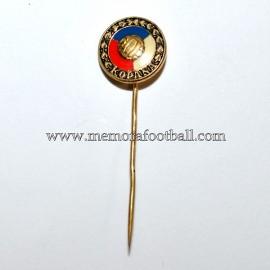 Antigua insignia de aguja de la Federación Checoslovaca de Fútbol