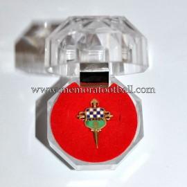 Insignia de oro del Racing de Ferrol, años 80