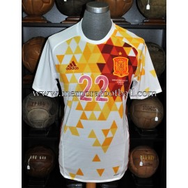"""NOLITO"" Spain vs Bosnia and Herzegovina 29-05-2016 match worn"